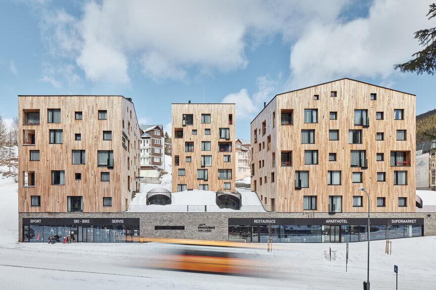Apart-Hotel Svatý Vavřinec / OV-A Architectural Studio