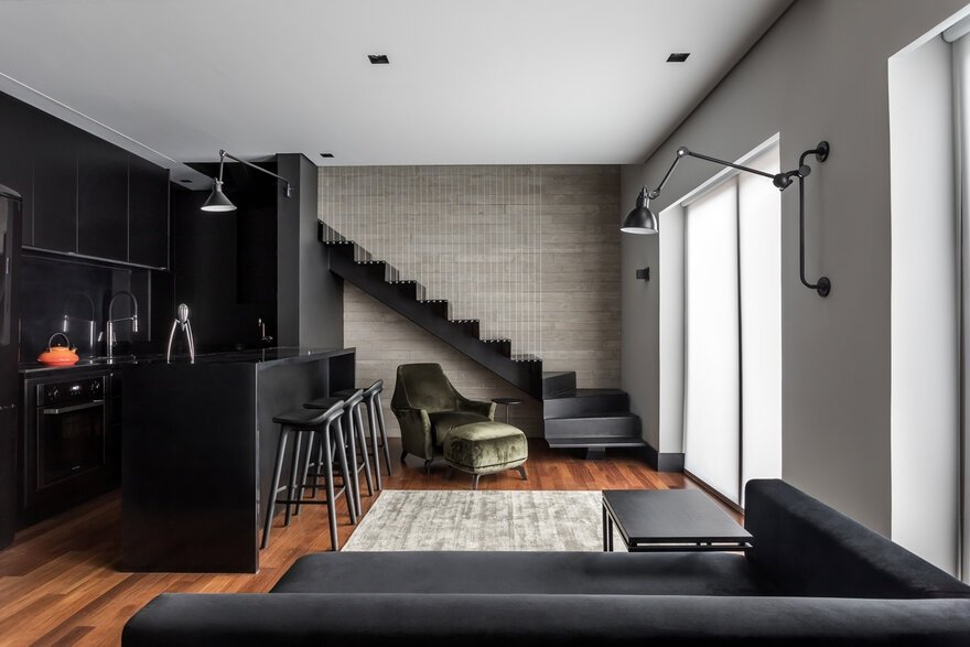 Batel Loft / Giuliano Marchiorato Arquitetos
