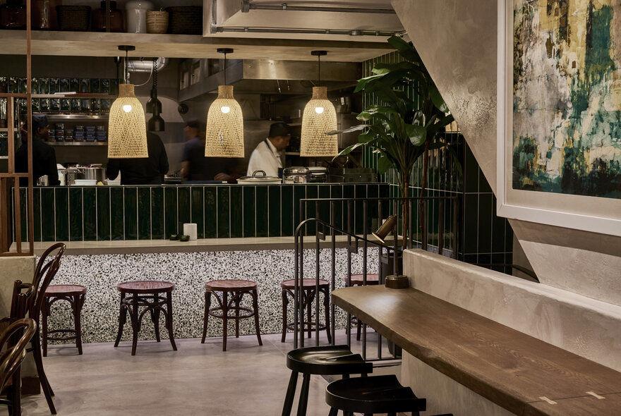 Kolamba Restaurant in Soho, London / Studio Fils