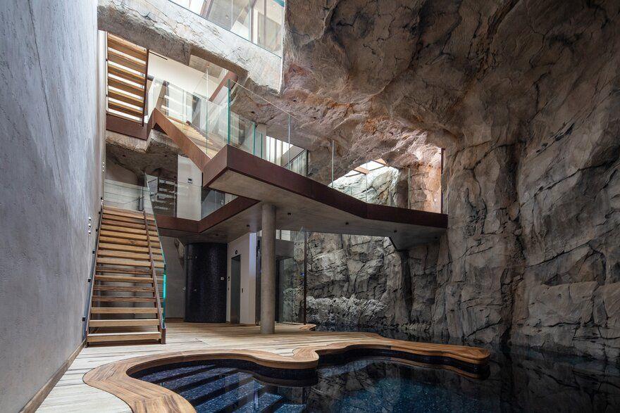 Troglodyte Villa, Monaco / Jean-Pierre Lott Architecte