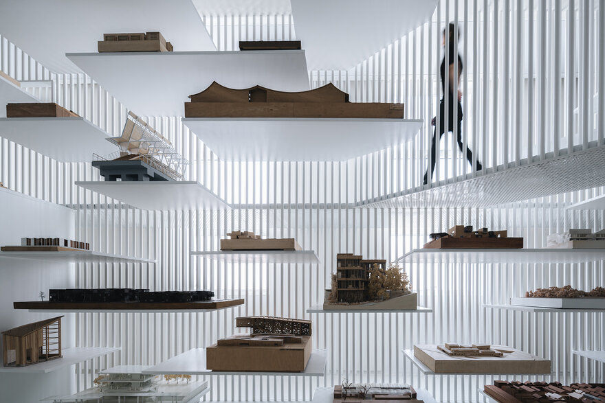 Architectural Model Museum in Shanghai by Wutopia Lab