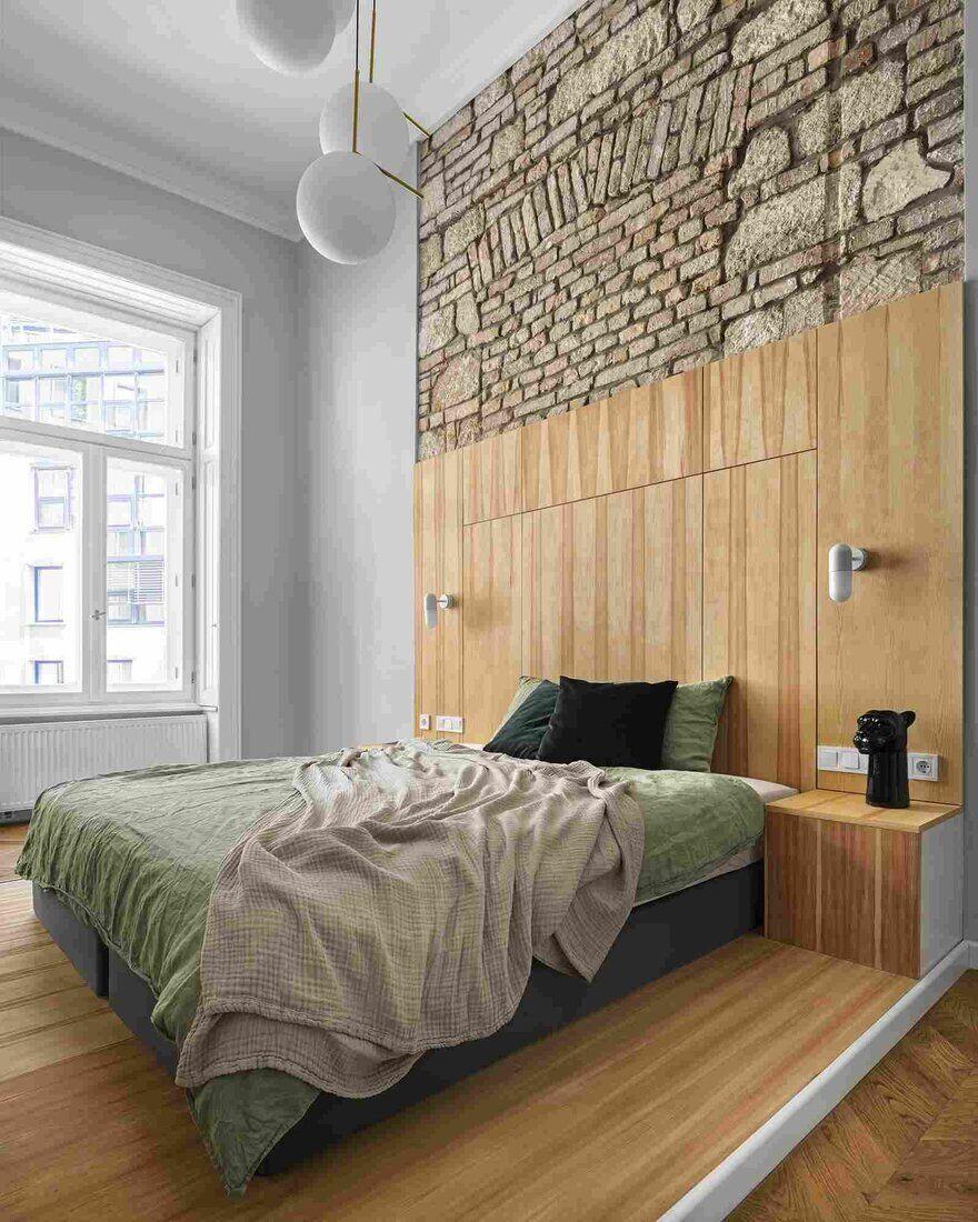 bedroom, Architres Studio