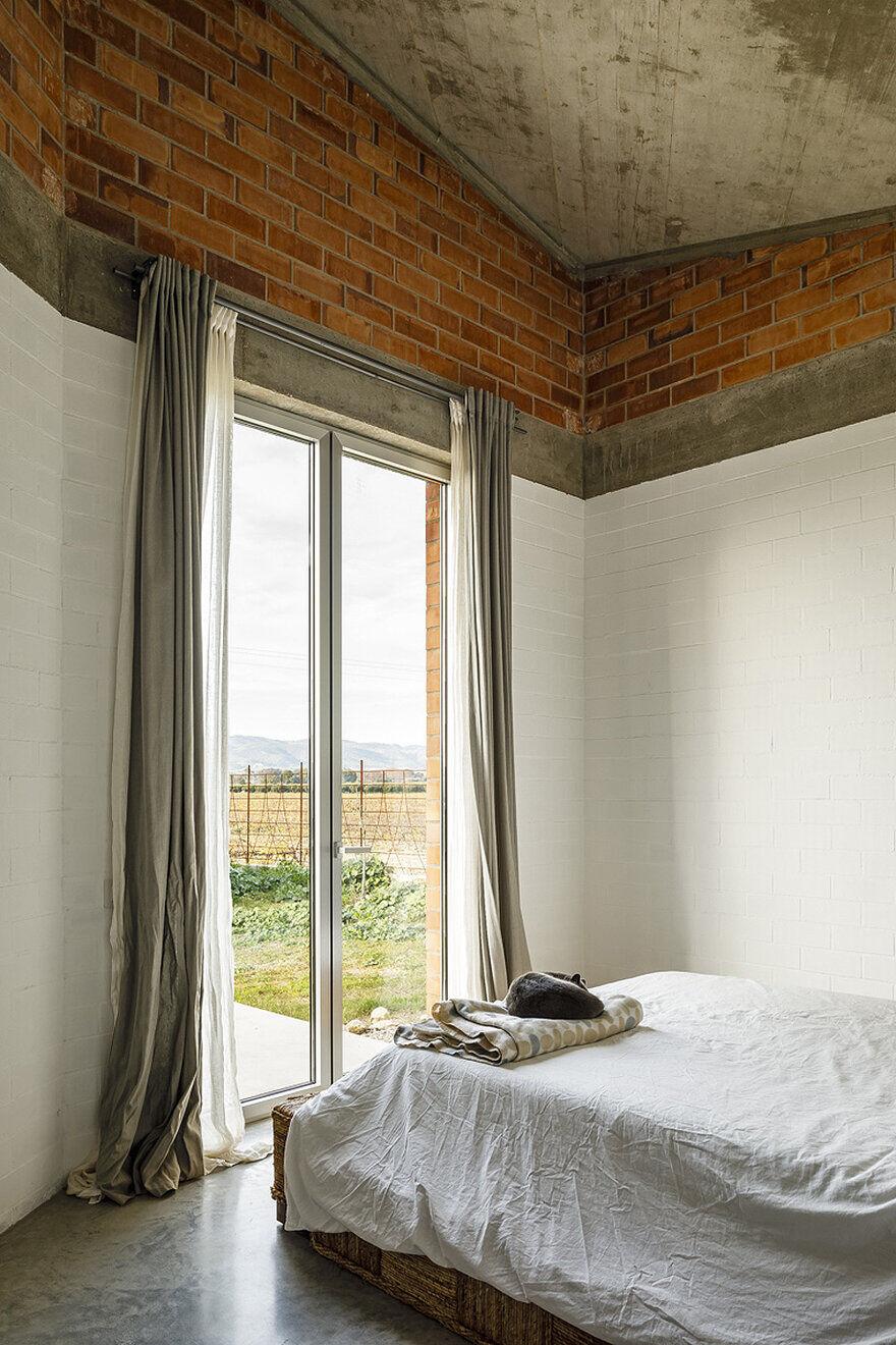 bedroom, Jesús Perales Arquitecte