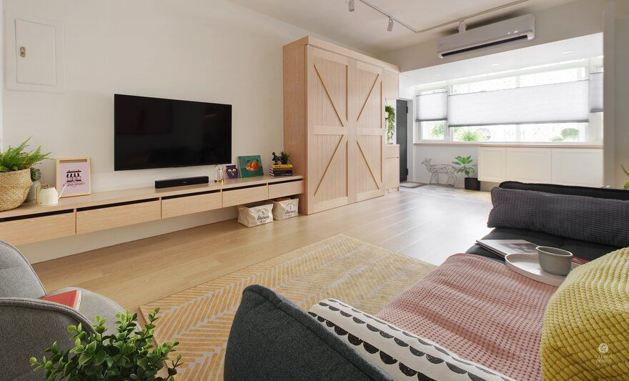 A Taipei Home Evoking a Relaxing and Comfortable Atmosphere