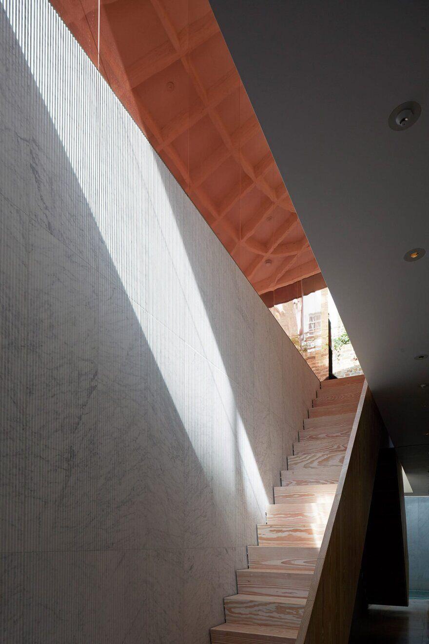 staircase, Gianni Botsford Architects