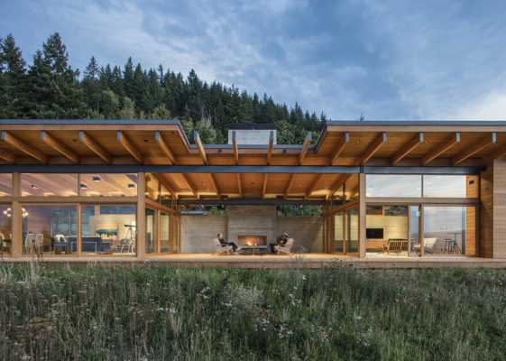 Hood River Residence in Oregon by Scott | Edwards Architecture