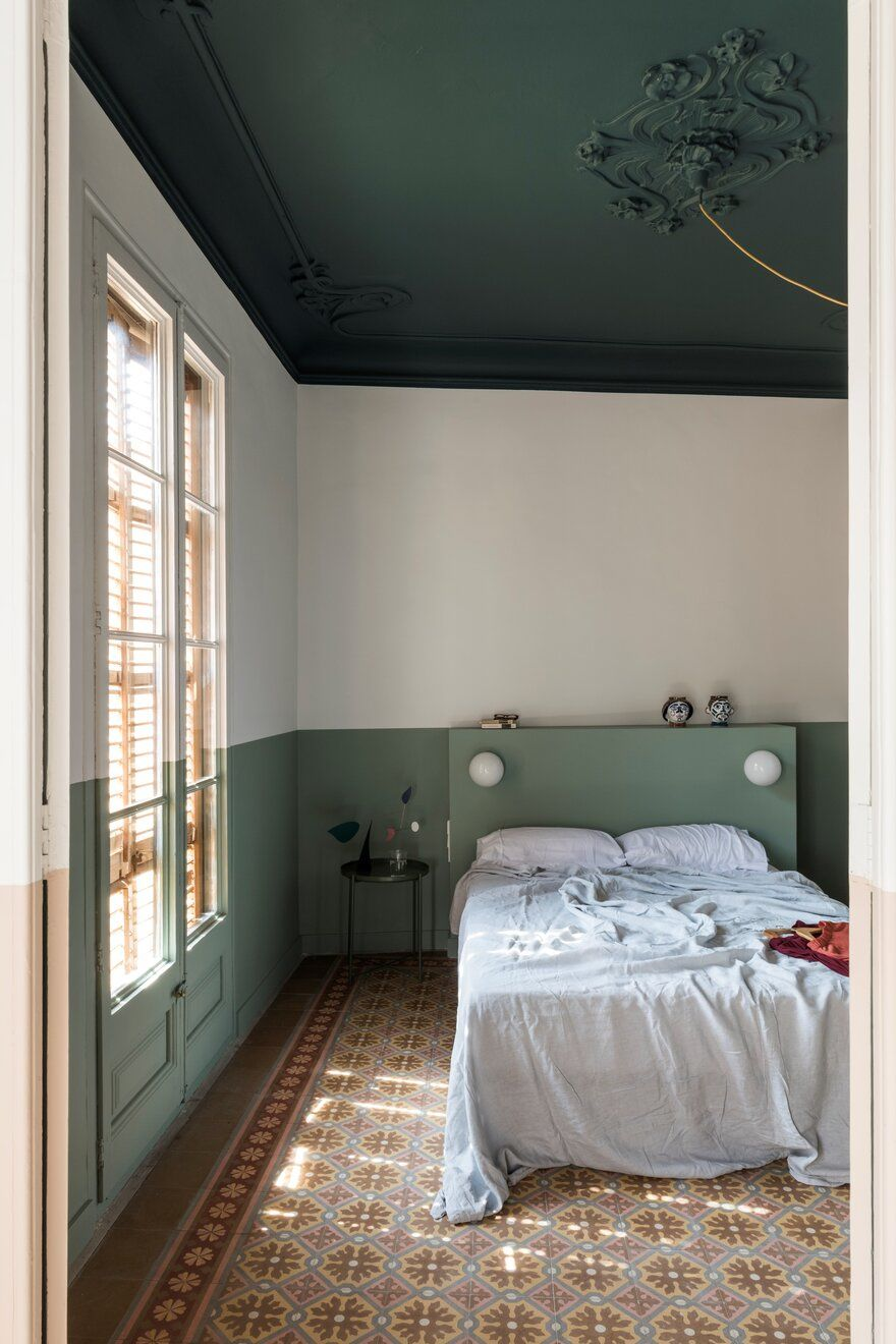bedroom / Colombo and Serboli Architecture