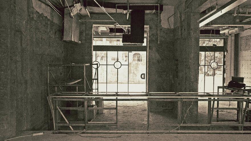 warehouse in Shanghai / o&o studio