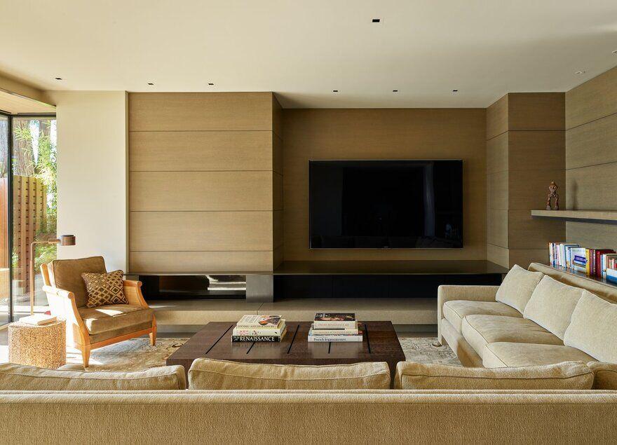living room / Graham Baba Architects