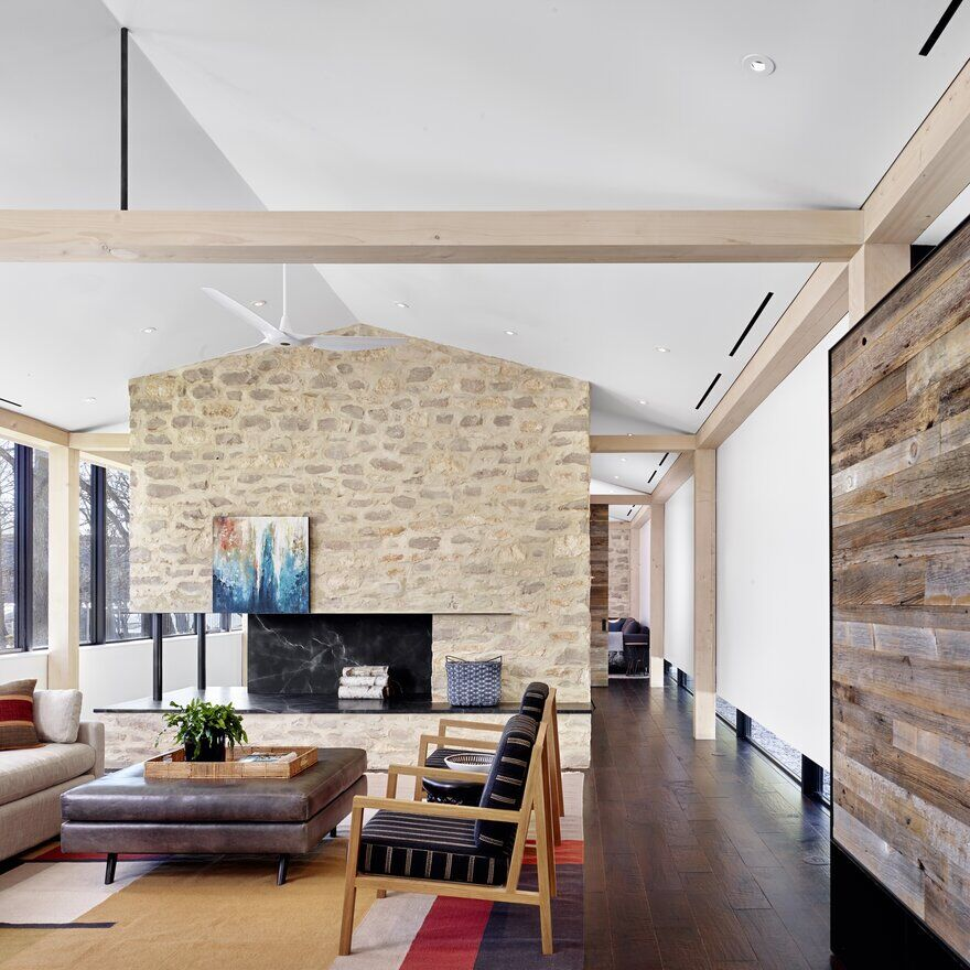 living room / Aamodt / Plumb Architects