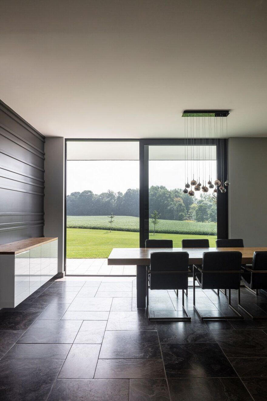dining room, Chris Collaris Architects