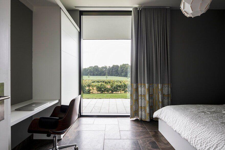 bedroom, Chris Collaris Architects
