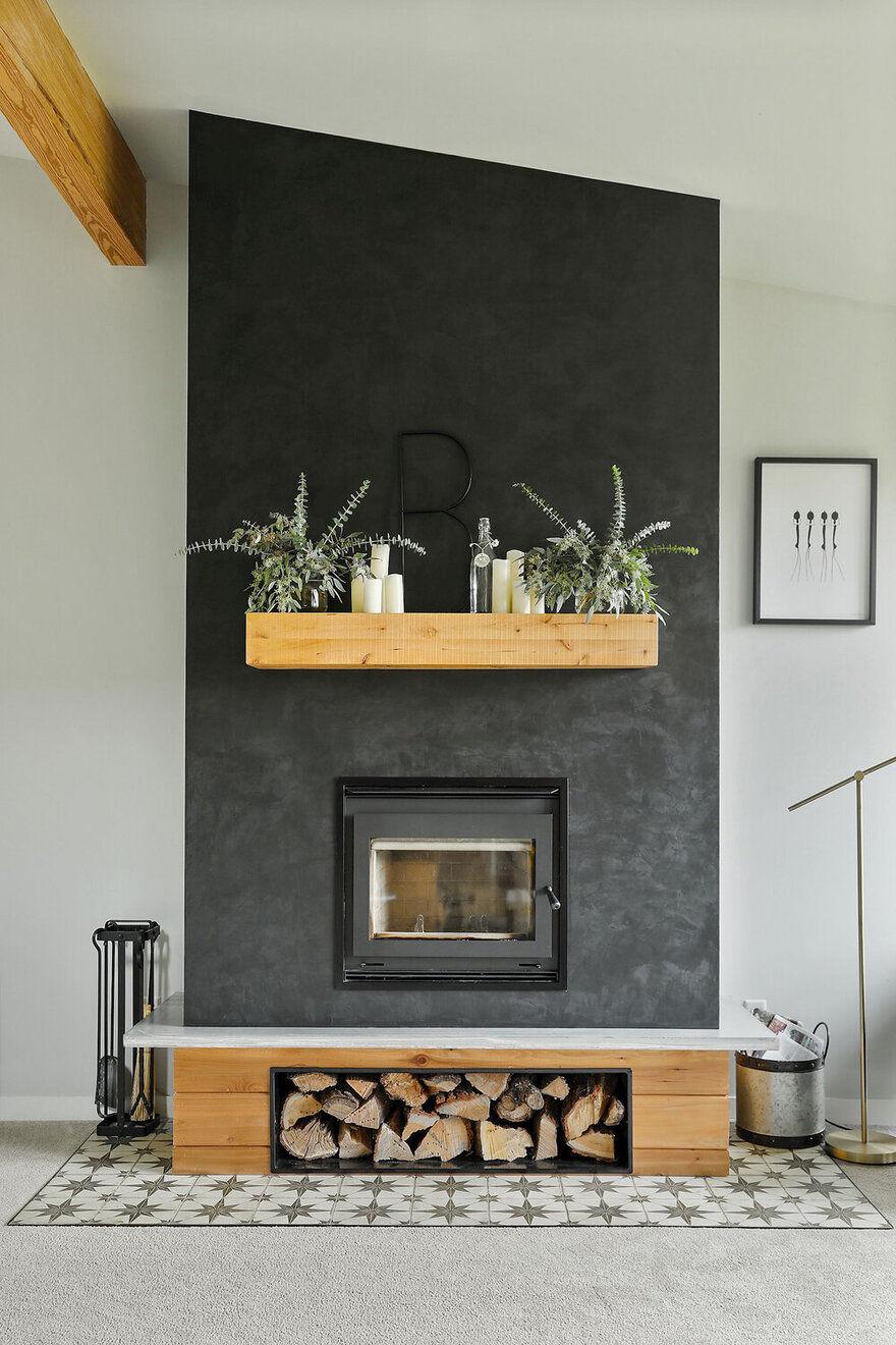 fireplace, Minnesota / Strand Design