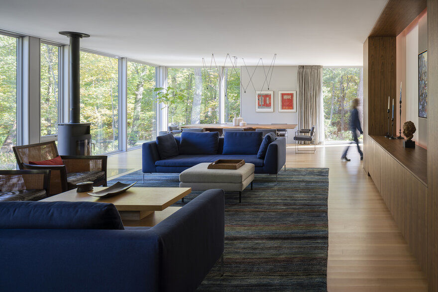 living room, Wheeler Kearns Architects