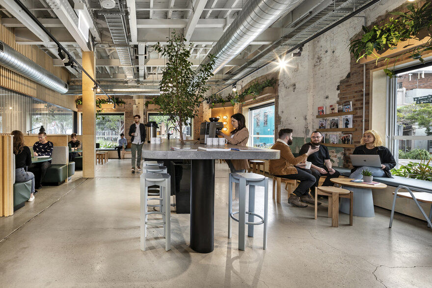 The Commons Coworking - Chippendale Siren Design Group