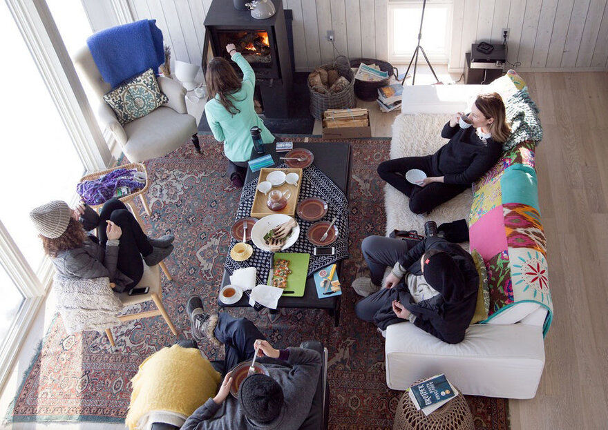 living room, Nine Yards Studio