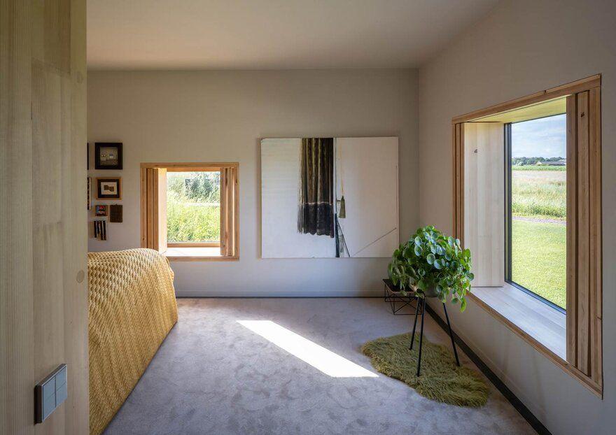 bedroom / Mecanoo Architecten