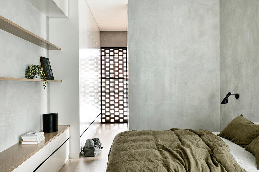bedroom / Jackson Clements Burrows Architects