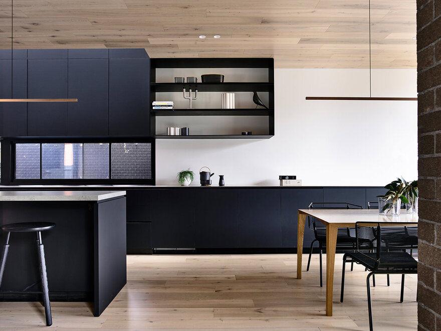 kitchen / Jackson Clements Burrows Architects