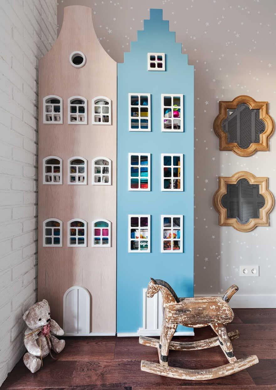 Belomorskaya Apartment / Designers Pavel and Svetlana Alekseeva