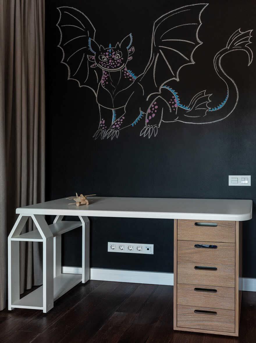 office design / Designers Pavel and Svetlana Alekseeva