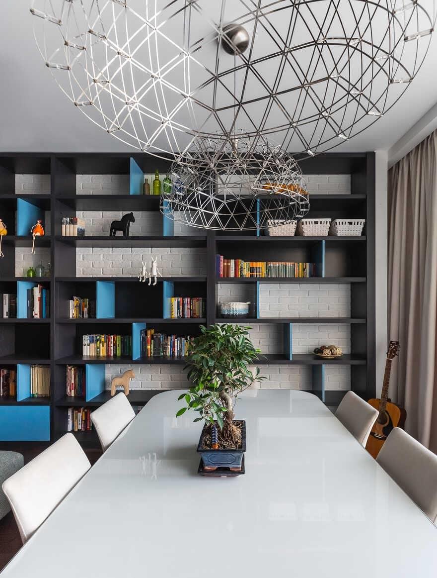 dining room / Designers Pavel and Svetlana Alekseeva