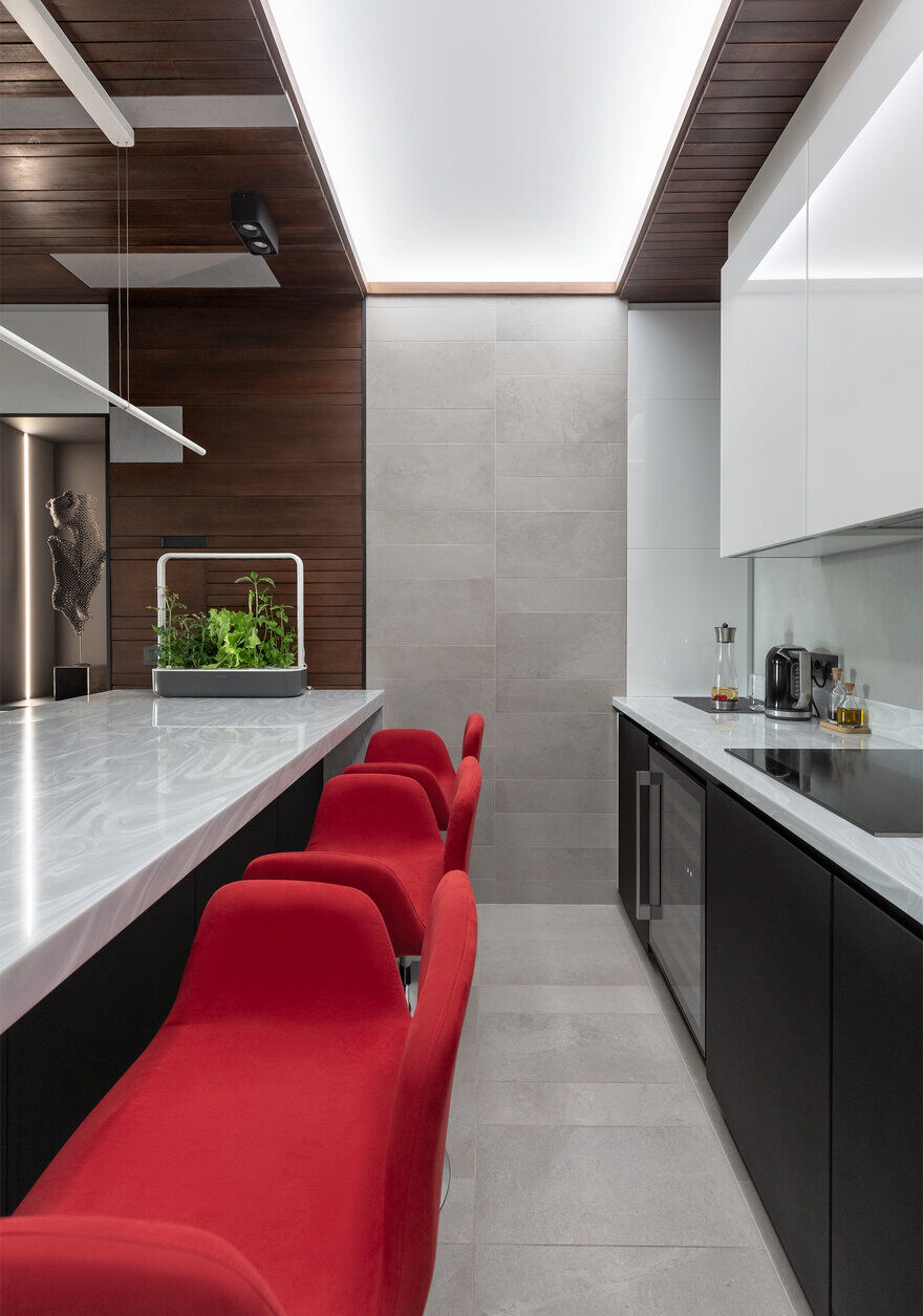 kitchen design / Designers Pavel and Svetlana Alekseeva