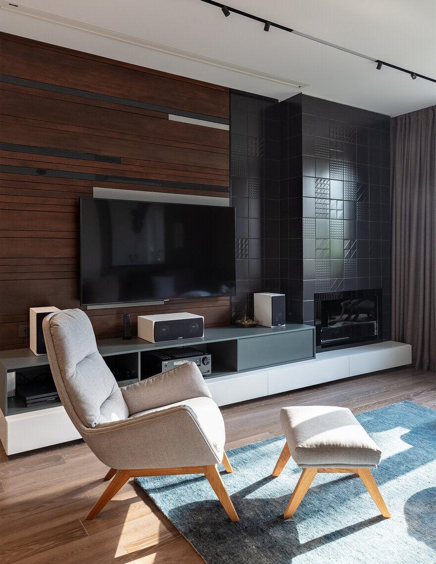 living room / Designers Pavel and Svetlana Alekseeva