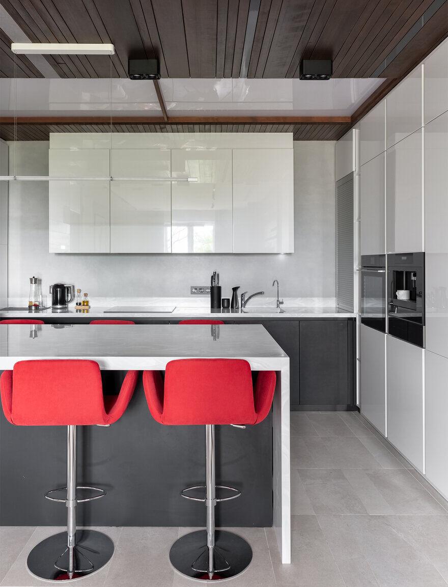 kitchen / Designers Pavel and Svetlana Alekseeva