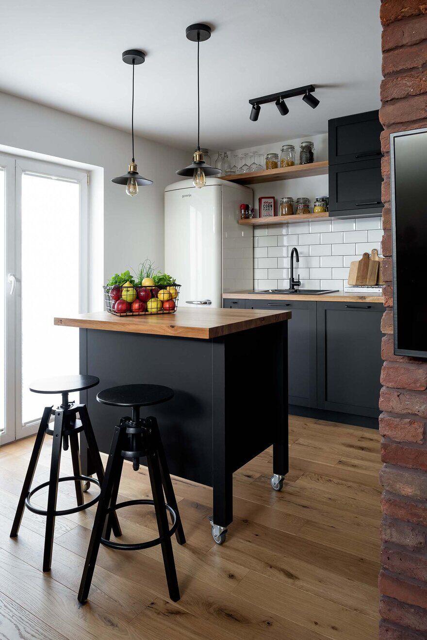 kitchen, Ljubljana / Idealists Studio