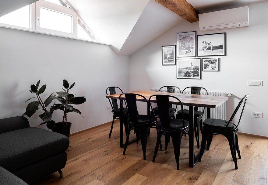 dining room, Ljubljana / Idealists Studio