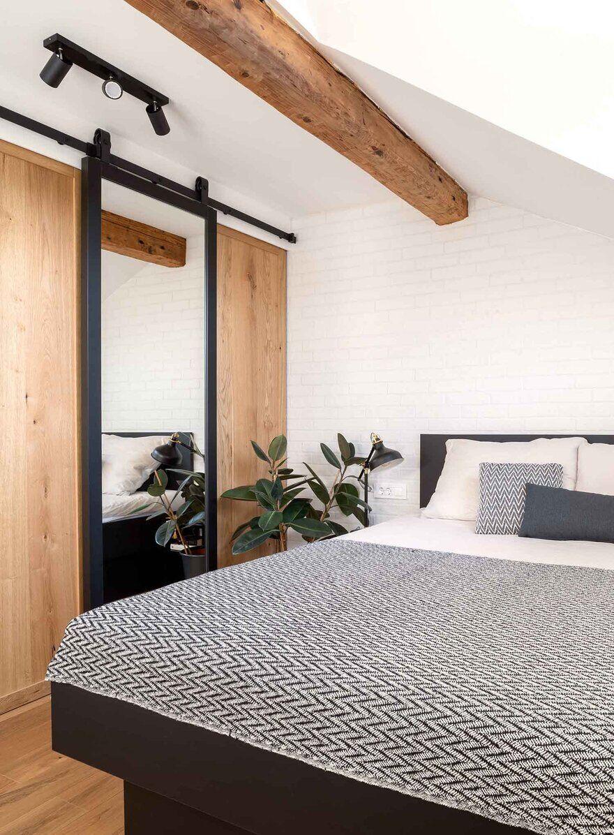 bedroom design, Ljubljana / Idealists Studio