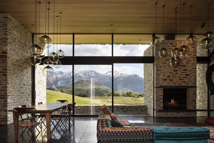 dining room, living room, RTA Studio