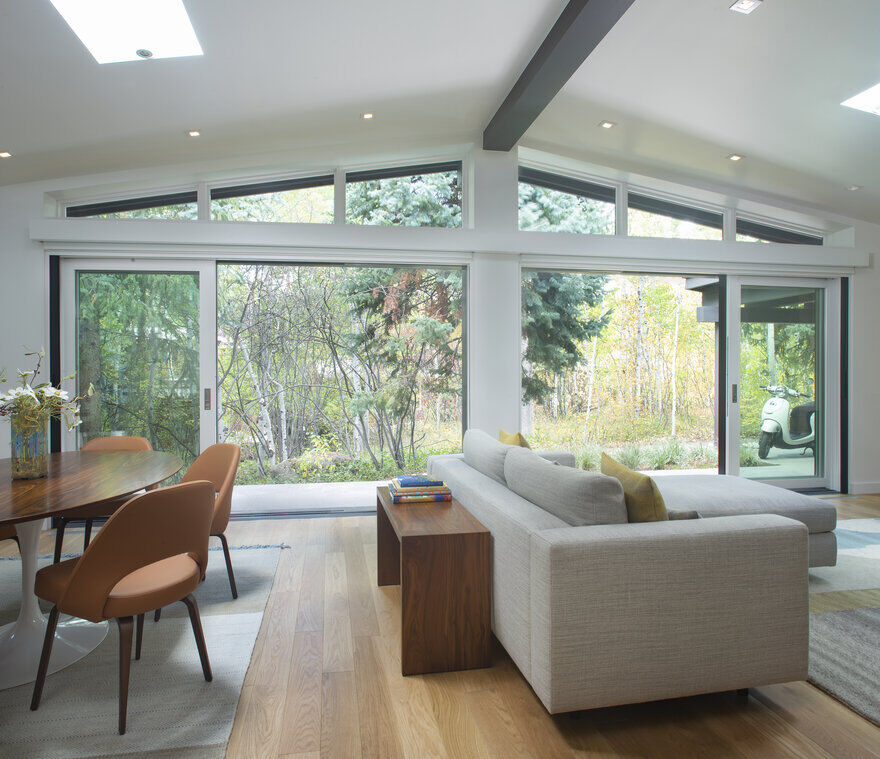 living room, Rowland+Broughton Architecture
