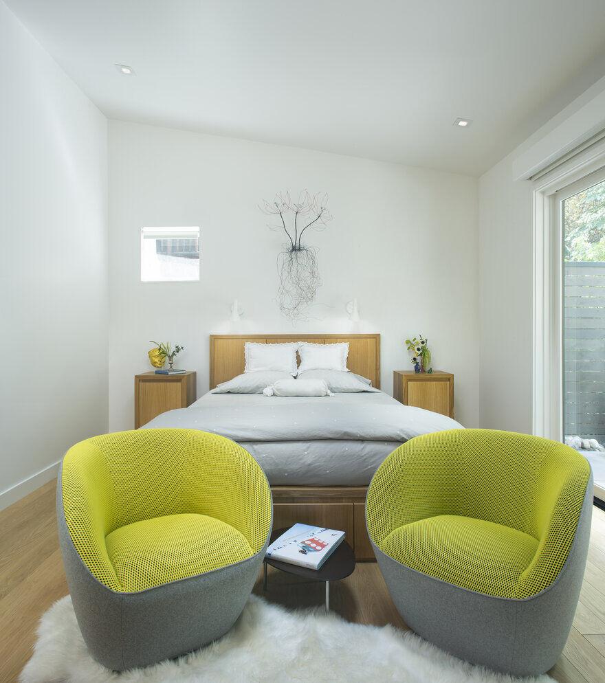 bedroom, Rowland+Broughton Architecture