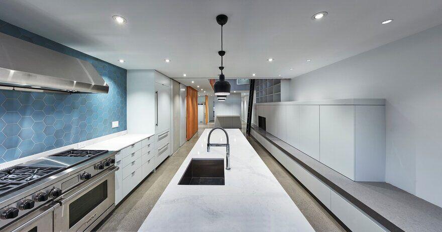 kitchen design, Montréal, Canada / RobitailleCurtis