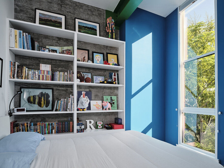 kids bedroom / Nathan Fell Architecture
