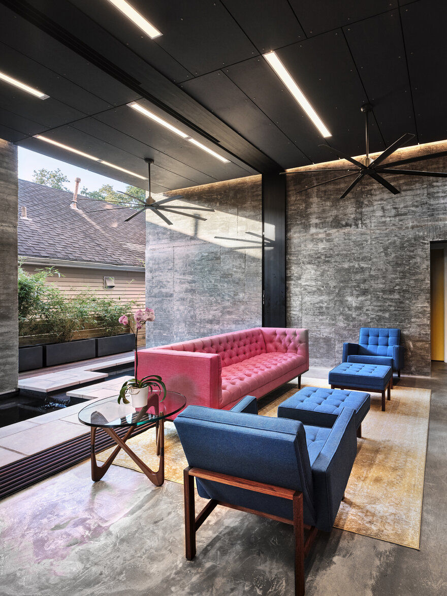 living room / Nathan Fell Architecture