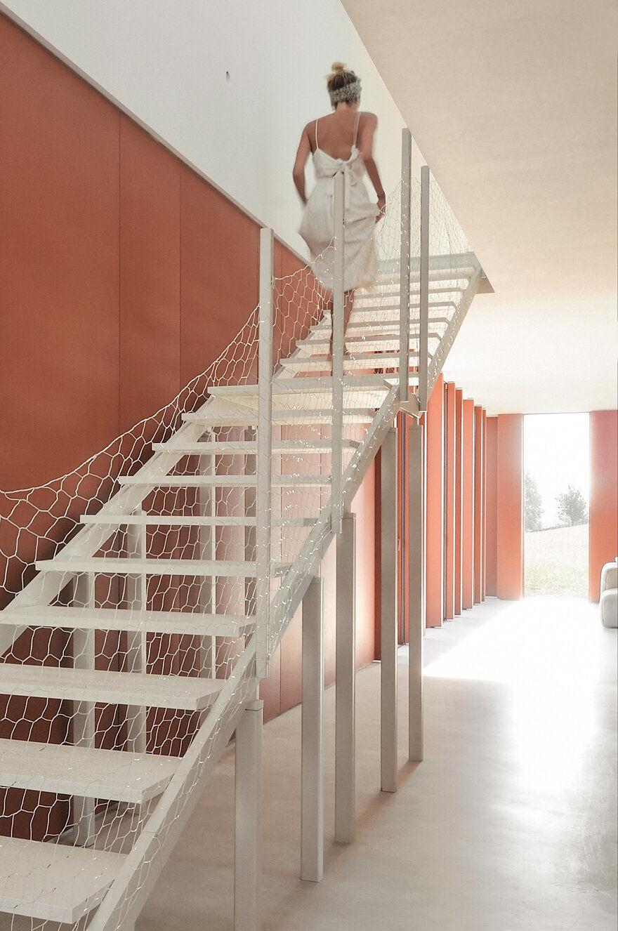 staircase, Italy / Simone Subissati Architects
