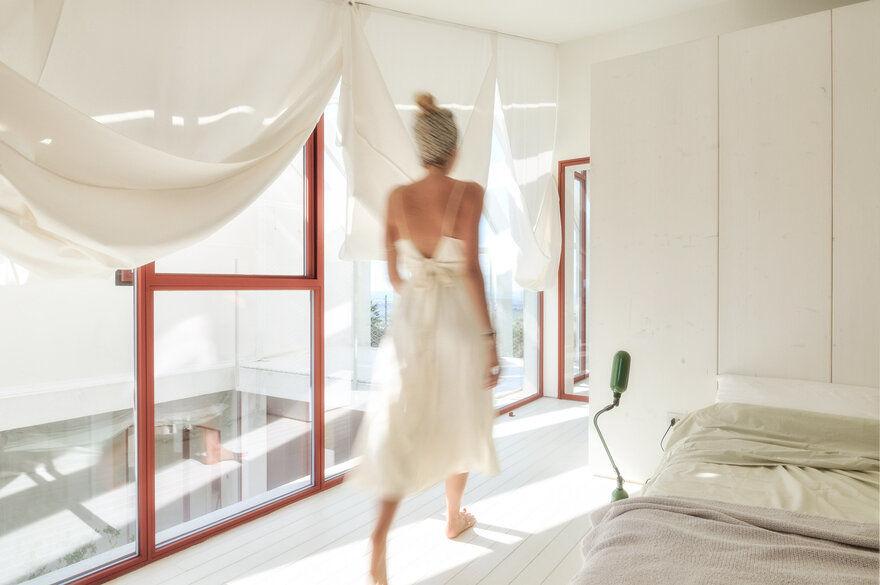 bedroom, Italy / Simone Subissati Architects