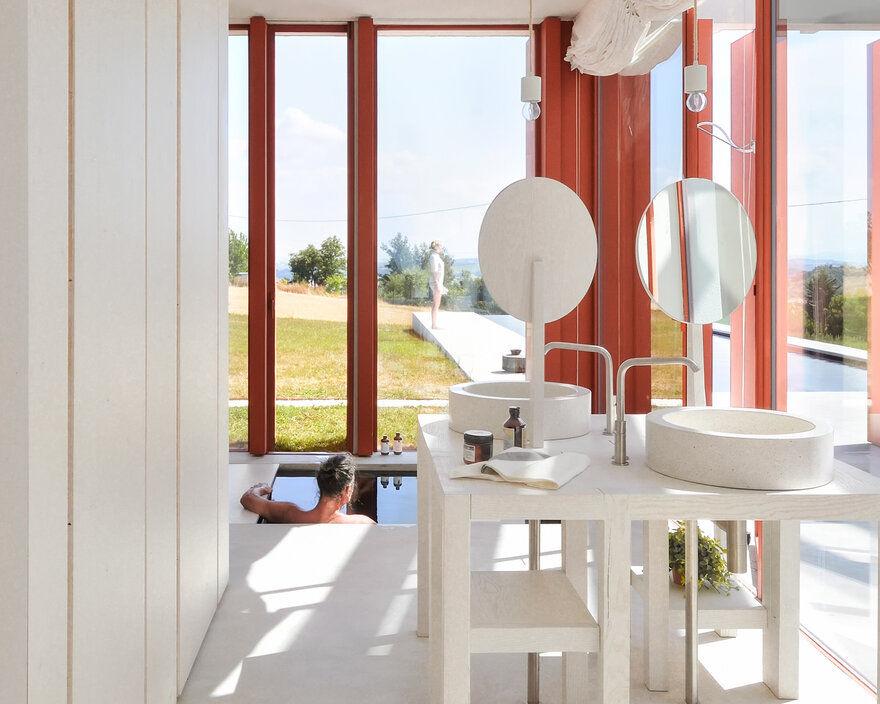 bathroom, Italy / Simone Subissati Architects