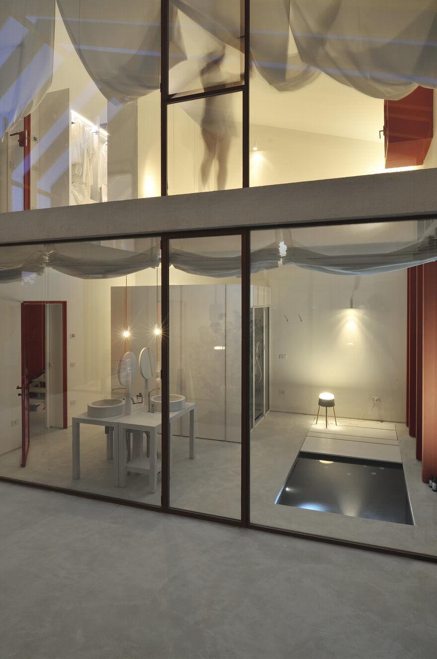 bathroom design, Italy / Simone Subissati Architects