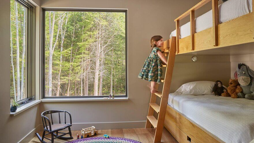 kids bedroom / Whitten Architects