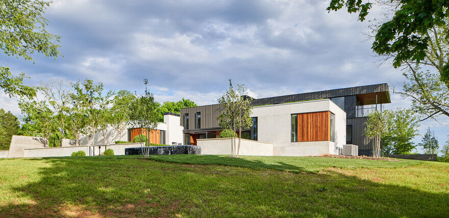 Calloway Ridge House, Tennessee / Sanders Pace Architecture