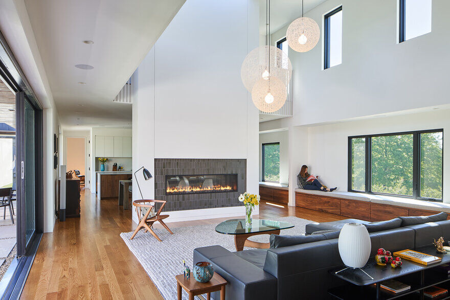 living room, Tennessee / Sanders Pace Architecture