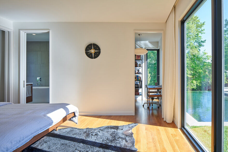 bedroom, Tennessee / Sanders Pace Architecture