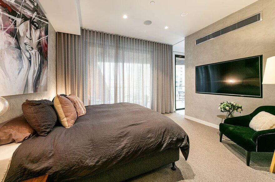bedroom design by Finnis Architects