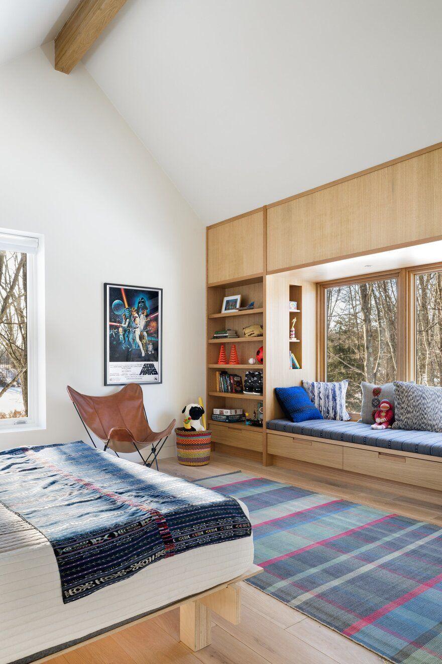 bedroom / Lake Flato Architects