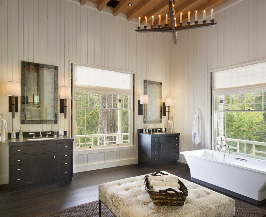 bathroom, Napa, California by Richard Beard Architects