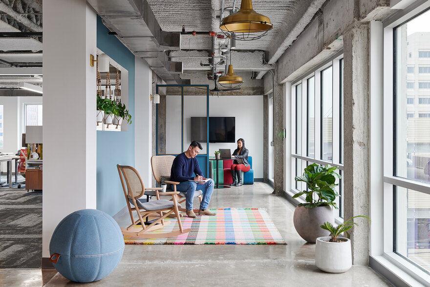 interior design workplace, Texas